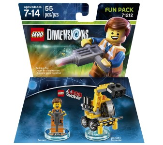 Lego fun pack emmet tesco clubcard points