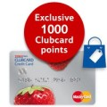 1000 Clubcard points with Tesco Mastercard