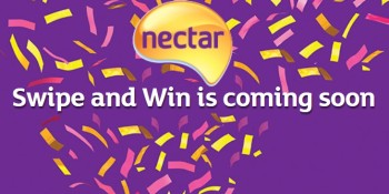 Sainsbury's Swipe and WIn Nectar points