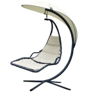 Bentley Garden Helicopter Swing Chair - Cream