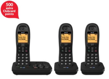 500 clubcard points telephone