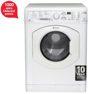 Hotpoint WDF740P 1000 extra tesco clubcard points
