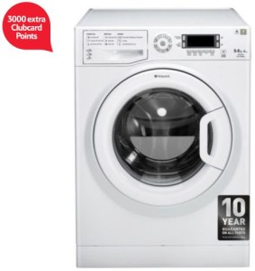 Hotpoint WDUD9640P 3000 extra tesco clubcard points