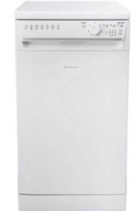 Hotpoint Slimline Dishwasher, SIAL11010P, White