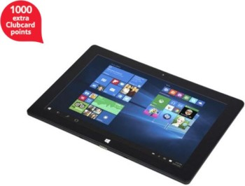 Windows Connect 10-Inch Tablet, Intel Atom, 1GB RAM, 32 GB - Black