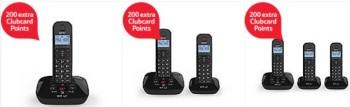 bt landline telepones extra clubcard points tesco