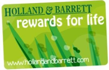 holland and barrett rewards for life card