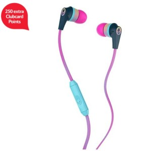 Skullcandy inkd 2.0 pink extra clubcard points tesco direct