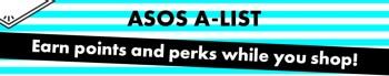 ASOS A-list loyalty program