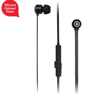 KitSound Ribbons Bluetooth Earphones With Microphone - Black