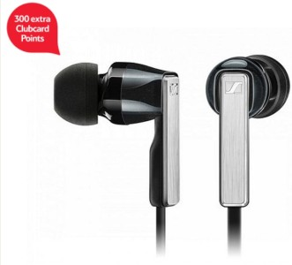 Sennheiser CX 5.00i In-Ear Canal Headphones for iPhone iPod iPad - Black