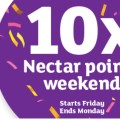 Coming soon: 10 x Nectar points next weekend!