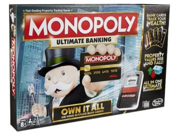 Monopoly Ultimate Banking Tesco Direct Clubcard