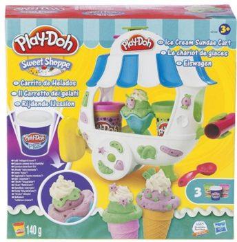 play-doh ice cream sundae cart