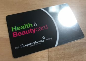 Superdrug health and beautycard