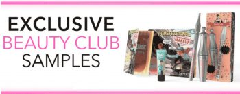 beauty club samples