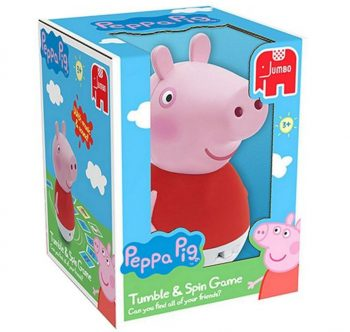 peppa pig tumble and spin game extra clubcard points tesco direct