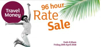 96 hour travel rate sale