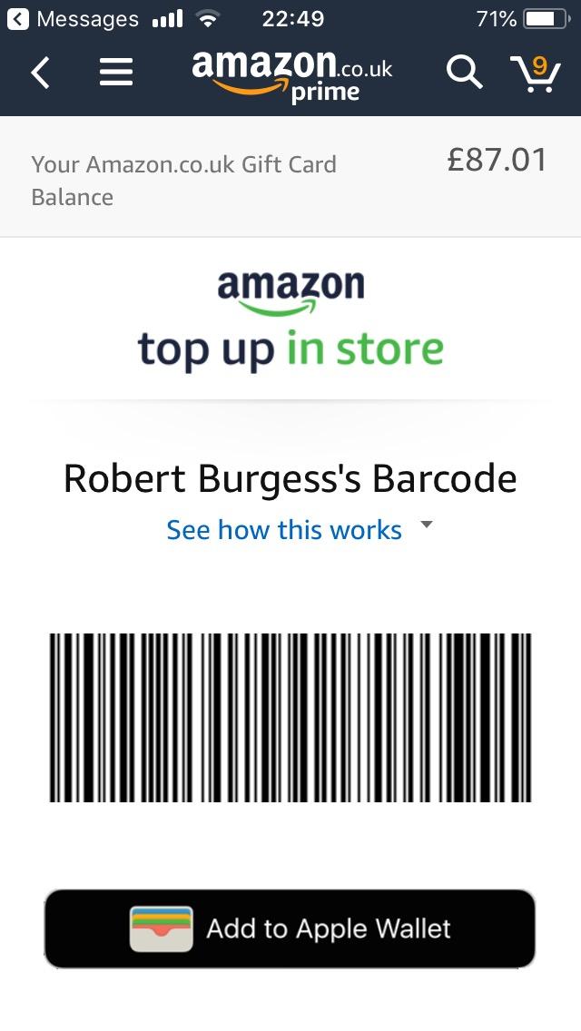 ما يزال للحكم أنكر Amazon Gift Card Apple Wallet Psidiagnosticins Com