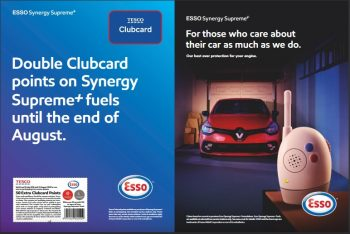 Tesco magazine August. esso