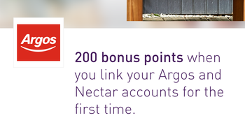 Argos Nectar offer