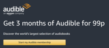 Audible 99p trial
